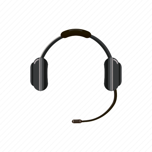 call, cartoon, center, headphone, headset, microphone, sound icon