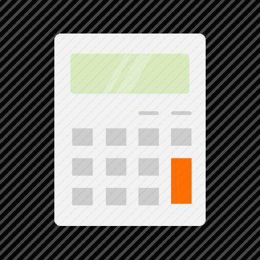 calcu, calculator, mathematics, personal digital assistant icon