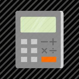 calc, calculator, math, mathematics icon