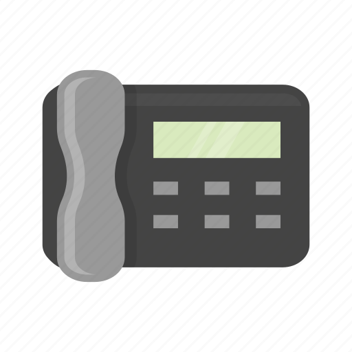 fax, fax machine, machine, telephone icon
