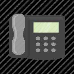 fax machine, landline, phone call, telephone icon