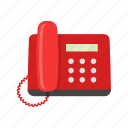 landline, phone, phone call, telephone icon