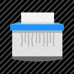 paper, paper shred, shred, shredder icon