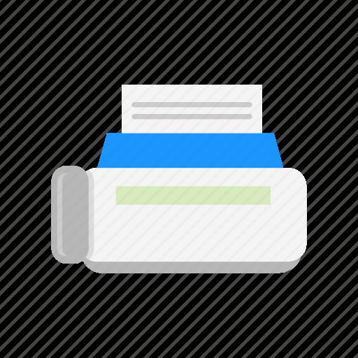 photocopier machine, print file, printer, scanner icon
