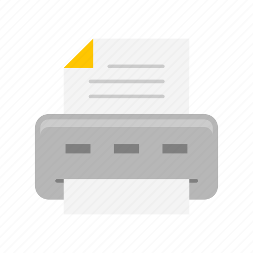 file, print, printer, scanner icon