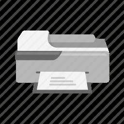 photocopier, print, printer, scanner icon