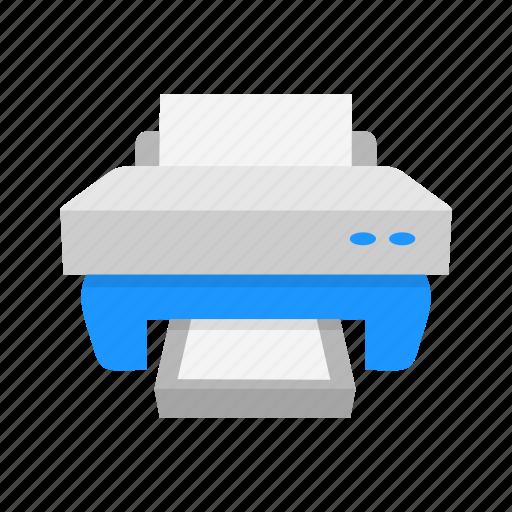 photocopy, print file, printer, scanner icon