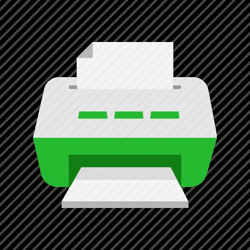 photocopy, print files, printer, scanner icon
