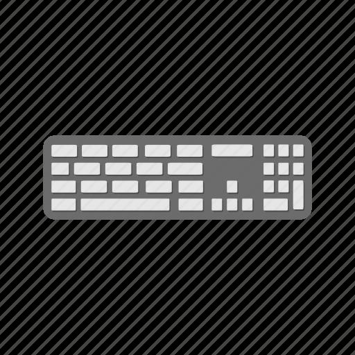 computer, computer keyboard, keyboard, mac keyboard icon