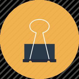 binder, clip, equipment, holder, item, paper, tool, utensil icon