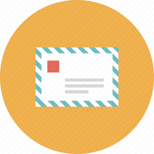 communication, email, envelope, letter, list, mail, mailing, message, send icon
