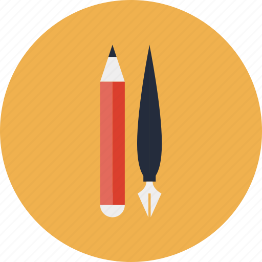 equipment, item, items, pen, pencil, stationary, tool, tools, utensil, writing icon