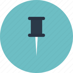attach, attaching, clip, equipment, item, link, office, pin, stick, tool, utensil icon