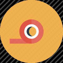 adhesive, duct, equipment, item, scotch, stick, tape, tool, utensil icon
