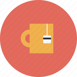 cup, drink, item, mug, object, tea icon