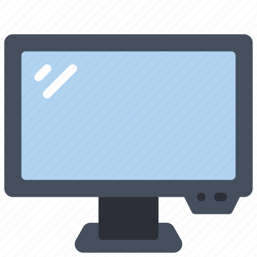 computer, equipment, monitor, office, pc icon