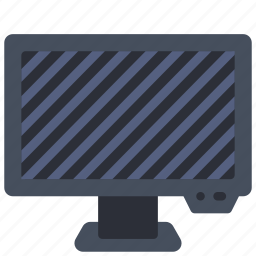 computer, equipment, monitor, off, office, pc icon