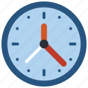 clock, equipment, office, time