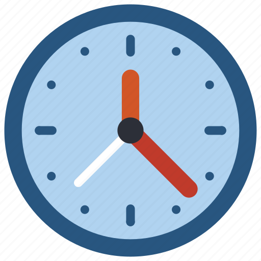 Equipment, clock, office, time icon