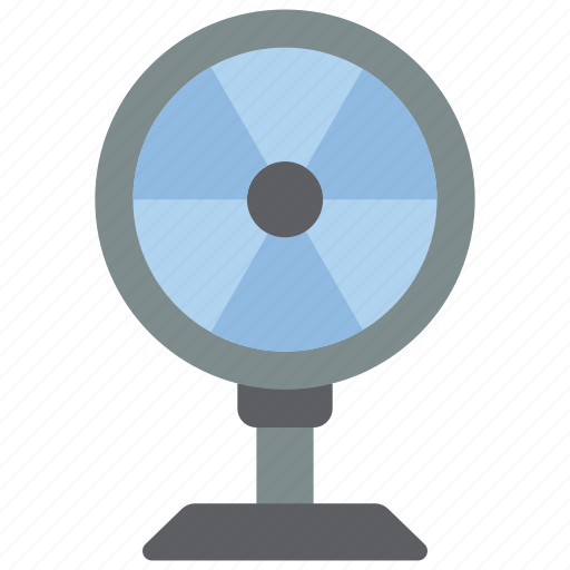 destop, equipment, fan, off, office icon