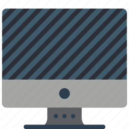 computer, equipment, mac, monitor, off, office icon