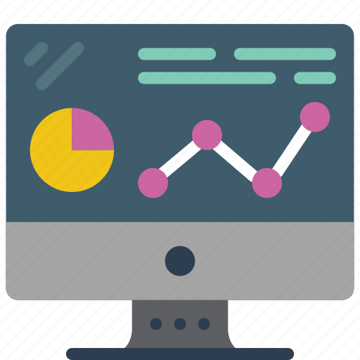 computer, equipment, mac, monitor, office, presentation icon