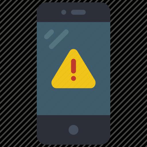 alert, equipment, mobile, office, phone, smart icon