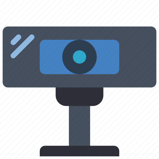 cam, camera, equipment, office, webcam icon