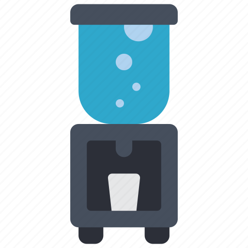 cooler, dispenser, equipment, office, water icon