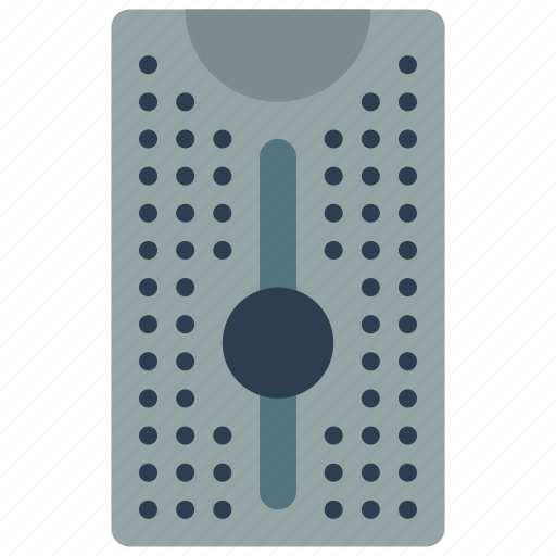 computer, equipment, office, server, tower icon