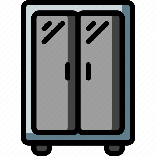 cabinet, equipment, furniture, office, wardrobe icon