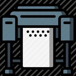 equipment, office, plotter, print, printer icon