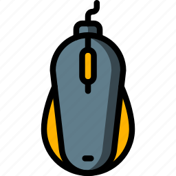 computer, equipment, mouse, office icon