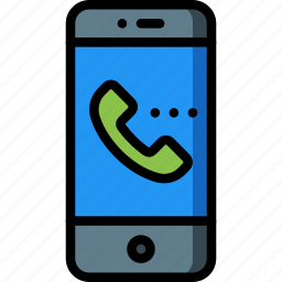 call, equipment, incoming, mobile, office, phone, smart icon