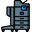 equipment, office, photocopier, printer icon