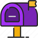 mailbox, mail, post, office, business, letter