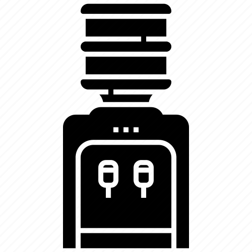 bottle, dispenser bottle, drink, water cooler, water dispenser icon