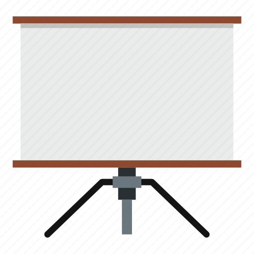 blank, board, empty, frame, space, stand, tripod icon