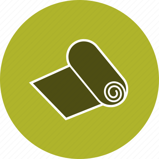 paper, printing, roll icon