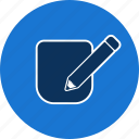 draw, edit, pencil icon