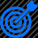 arrow, focus, goal, stategy, target icon
