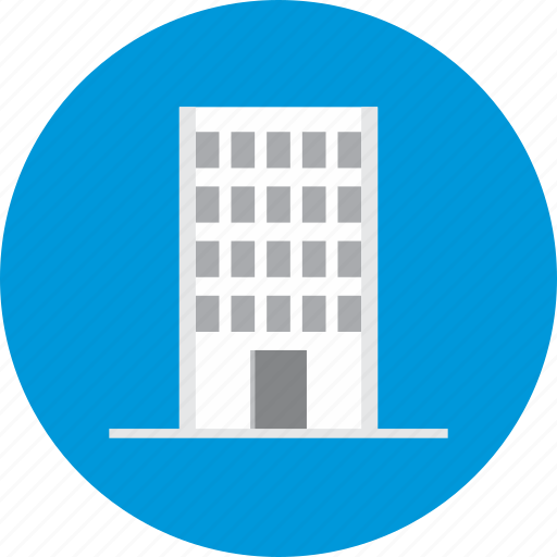 apartment, block, buildings, office, residential icon