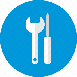 repair, screwdriver, setting, settings, wrench icon