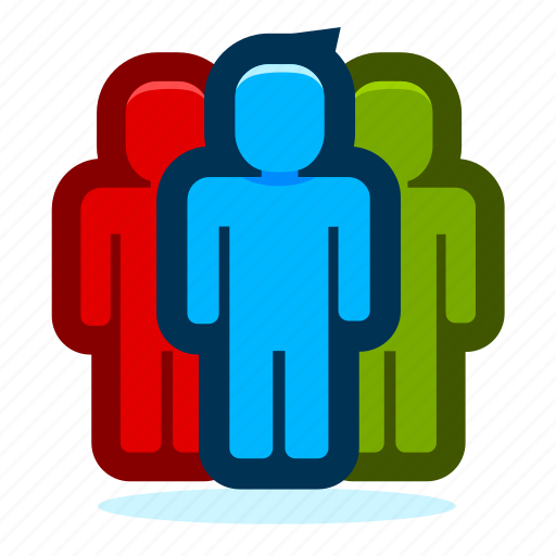 business, group, human, office, people, person, team, teamwork, user, users icon