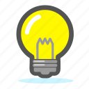 bulb, creative, idea, inspiration, light icon