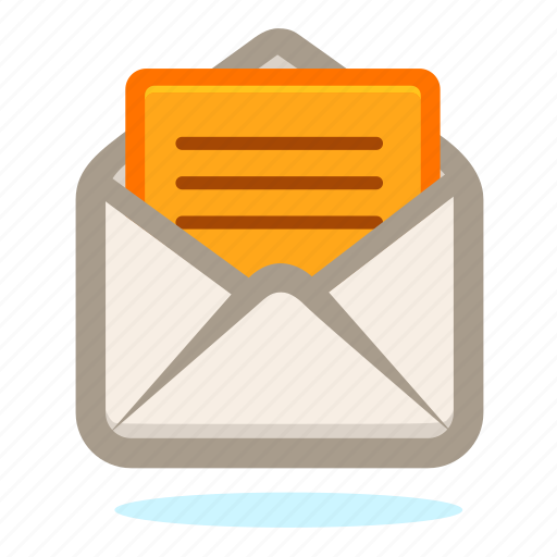 communication, connection, email, envelope, letter, mail, message, send, talk icon