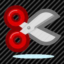 repair, scissors, settings, tool, tools, work icon