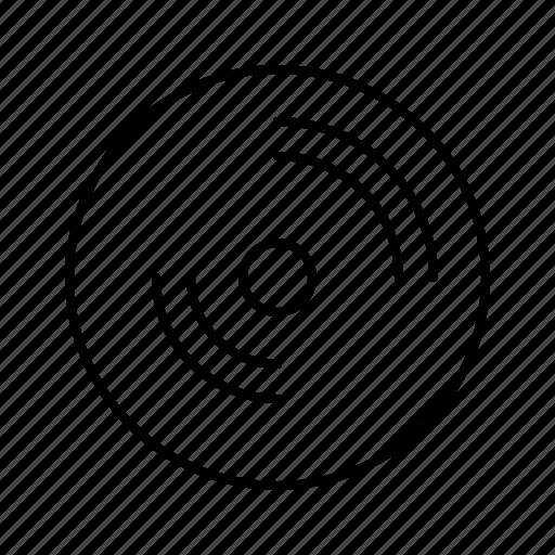 compact, disc, job, office, secretary, work icon