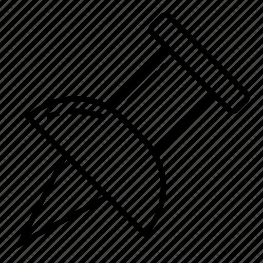 Marker, pin, pin tool, push pin, thumbtack icon - Download on Iconfinder