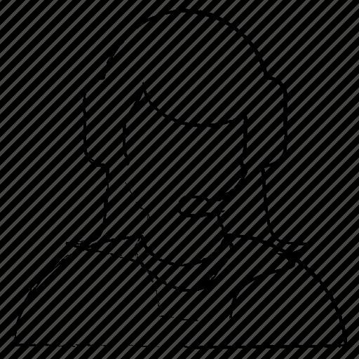 avatar, employee, office, user icon